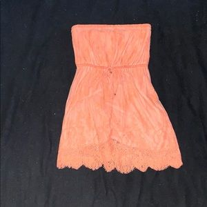 Strapless Aeropostale dress